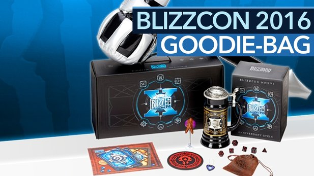 Blizzcon 2016 Goodie-Bag - Unboxing der Fan-Schatztruhe