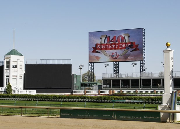 Churchill Downs: 4K Anzeigetafel