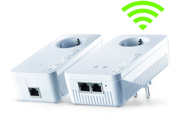 dLan-Adapter mit WiFi