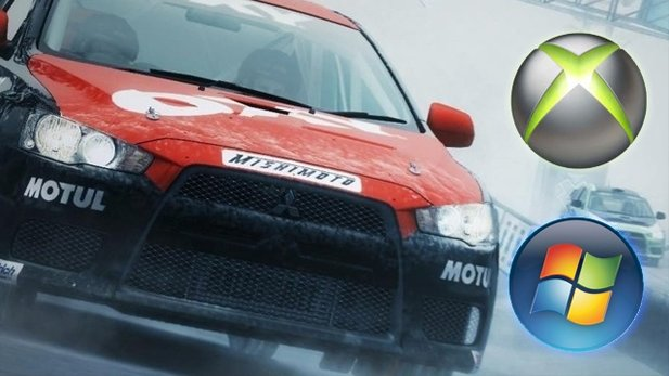DiRT 3 - PC vs. Xbox 360