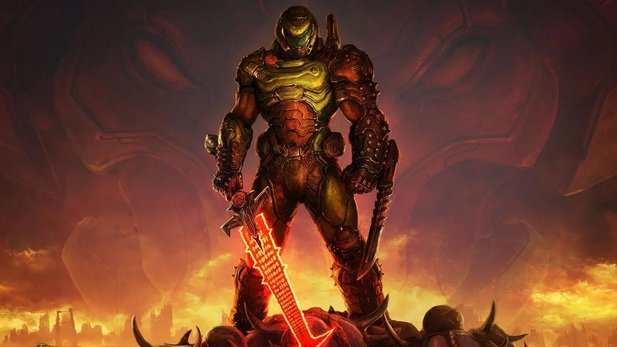 Not to be seen: The games that the Doom Slayer kicked out of the Steam charts to reach the podium.