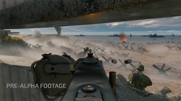 Enlisted - Gameplay-Video zum Weltkriegs-Shooter zeigt Massenschlacht am D-Day