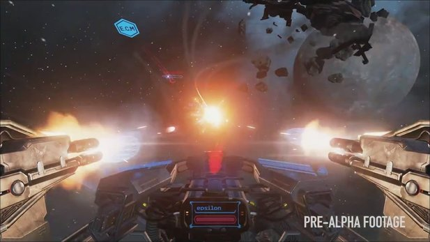 EVE: Valkyrie - Gameplay-Trailer zur Pre-Alpha-Version