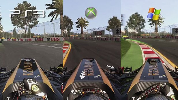 F1 2011 - PC vs. Xbox 360 & PlayStation 3
