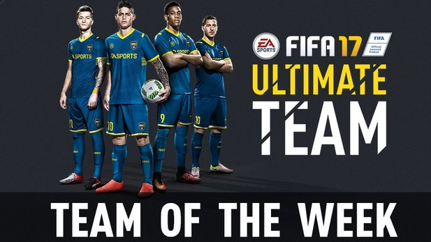 Das neue Team of the Week in FIFA 17 ist da.