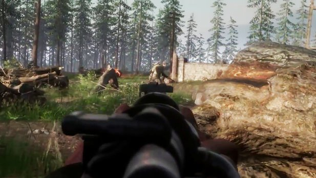 Hell Let Loose - Gameplay-Trailer: Gewaltiger WW2-Shooter startet bald in den Early Access