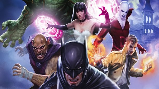 Justice League Dark - Blu-ray-Trailer zum düsteren DC-Animationsfilm mit Batman, Constantine & Co.