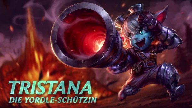 League of Legends - Champion-Video: Tristana, die Yordle-Schützin