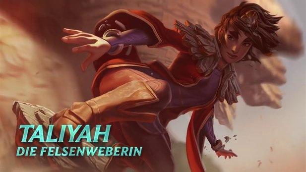 League of Legends - Champion-Spotlight zu Taliyah, die Felsenweberin