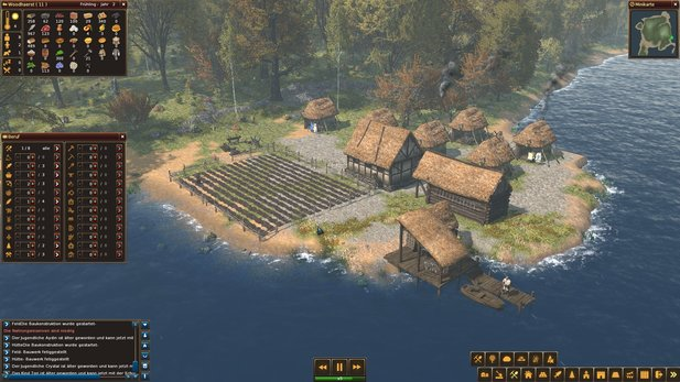 Life is Feudal: Forest Village im Test - Gut geklaut, schlecht