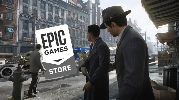 The Epic Store stays in the background for now. The Mafia: Definitive Edition first appears on Steam.