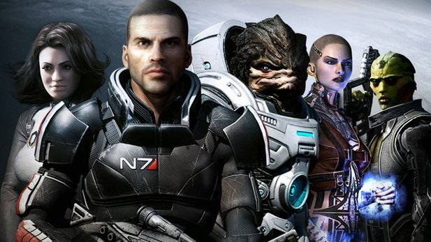 Mass Effect 2 - Launch-Trailer mit Heart of Courage.