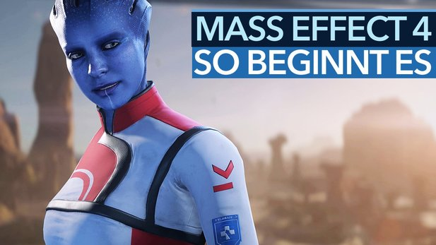 Mass Effect: Andromeda - Video: So beginnt Mass Effect 4 (Ultra Details)