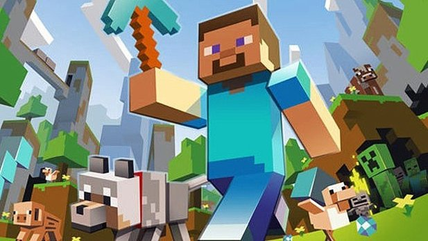 Testvideo zur Minecraft-Xbox-Version