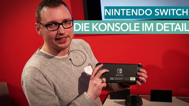 Nintendo Switch - Details zur Hardware im Hands-On-Video