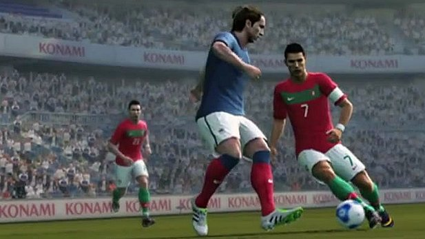 Gameplay-Trailer zu Pro Evolution Soccer 2012