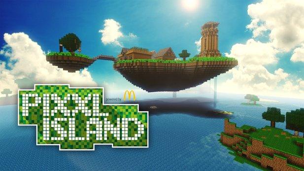 Minecraft & Pixxl Island - So sieht die Adventure-Map für ...
