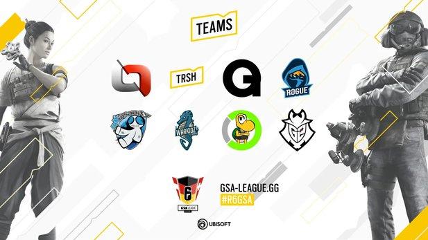 Rainbow Six Siege GSA League 2020 teams