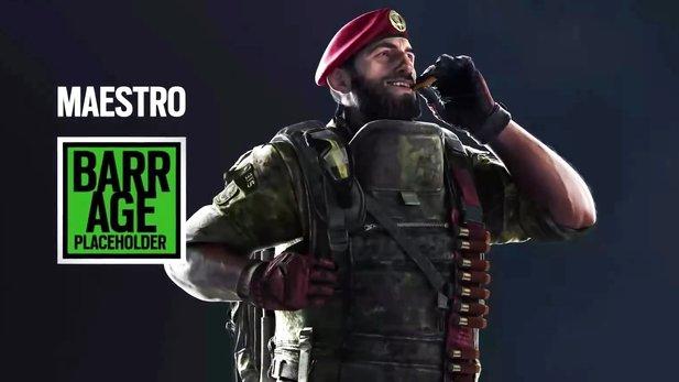 Maestros geleakte Fähigkeiten passen noch nicht perfekt zum geleakten Bild: Warum genau trägt er gürteilweise Shotgun-Munition? Wirklich nur für seine Sekundärwaffe?