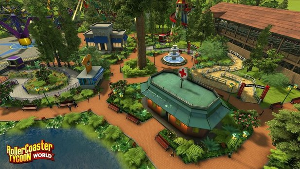 Rollercoaster Tycoon World geht am 31. März 2016 in die Early-Access-Phase.