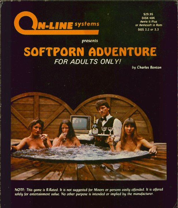 Softporn Adventure - Cover
