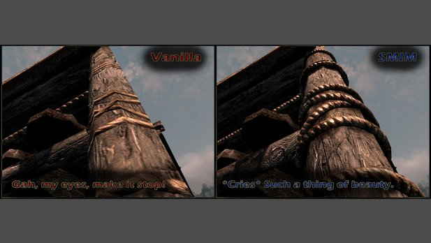 Skyrim Mod: Static Mesh Improvement