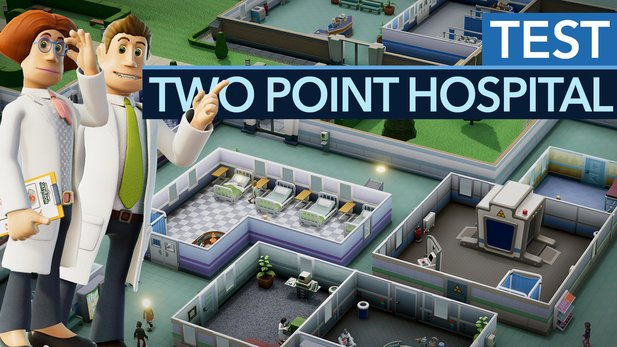 Test-Video: Two Point Hospital - So reanimiert man einen Klassiker!