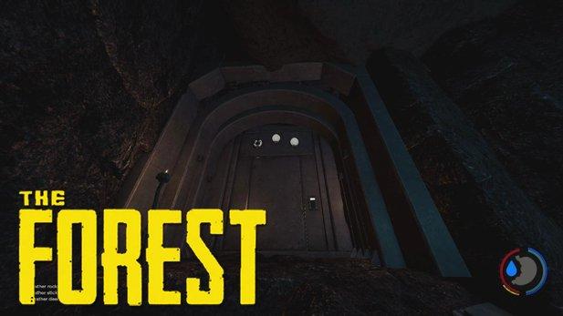 The Forest Karte Höhlen.The Forest Endlich Geöffnet Was Verbirgt Sich Hinter Der Tür In