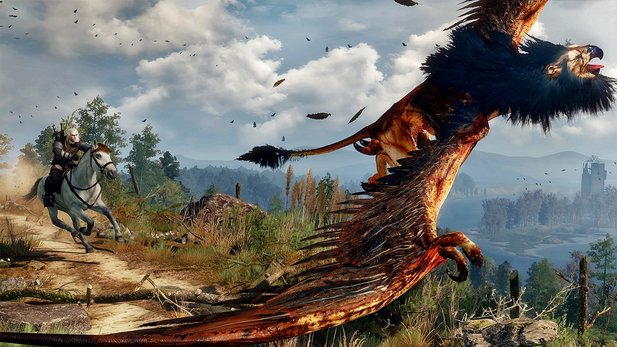 The Witcher 3: Wild Hunt - Gameplay aus dem Prolog: Wir jagen einen Greif