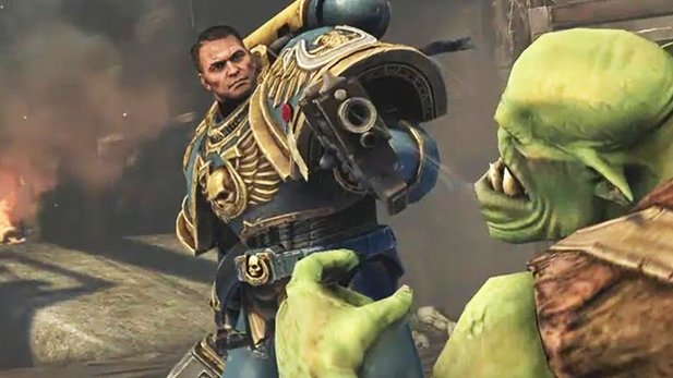 Warhammer 40k: Space Marine - Entwickler-Video #1