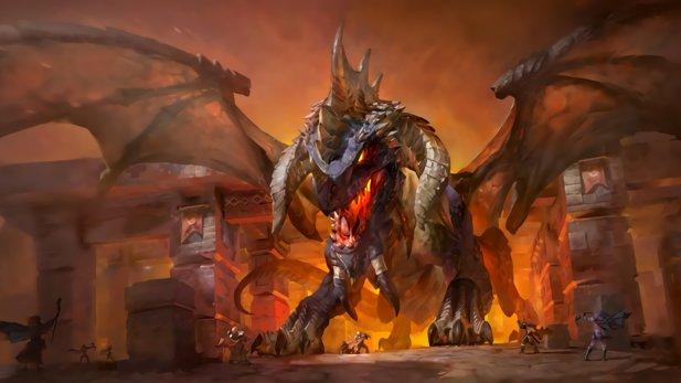 Nefarian, auch bekannt als Blackwing, kontrolliert die Oger.