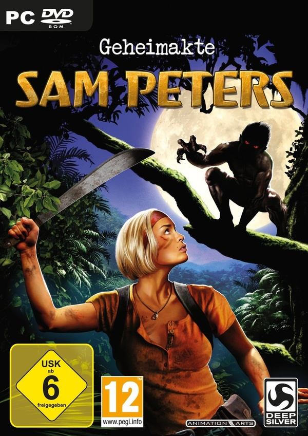 Cover zu Geheimakte: Sam Peters