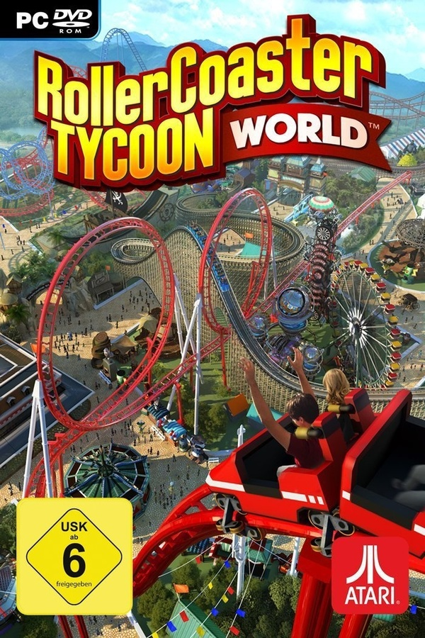 Cover zu Rollercoaster Tycoon World