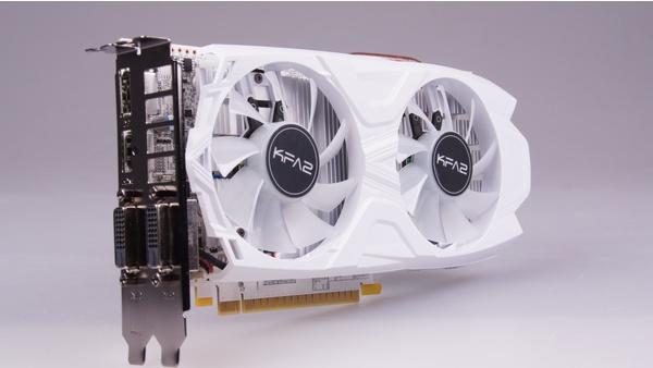 Bilder zu KFA2 Geforce GTX 1050 Ti EXOC White - Bilder