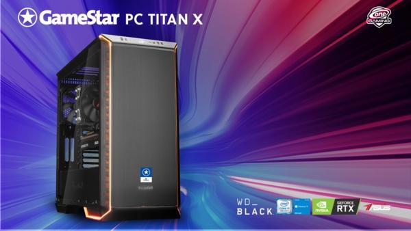 Schnellster 4K Gaming-PC seiner Klasse - GameStar-PC Titan X