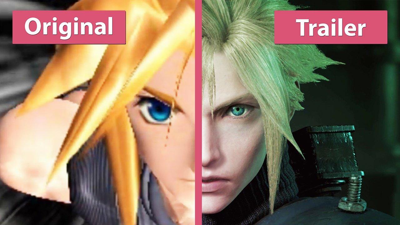 Final Fantasy 7 Original Und Remake Im Trailer Vergleich Gamestar