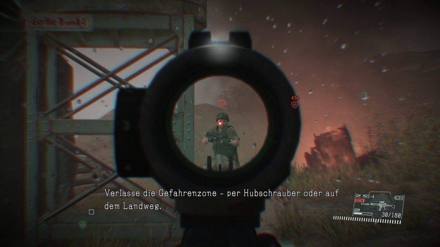 Metal Gear Solid 5 The Phantom Pain Im Test Schlange Sandkasten V Definitive Edtn Region 2 Auf Wunsch Lsst Sich Mit Den Waffen Auch Ber Kimme Und Korn Zielen Speziell Fr Przise Schsse Eine Willkommene Option