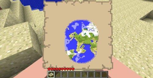 Karte Minecraft.Minecraft Patch 1 6 Mit Karte Und Hollen Ebene Erschienen