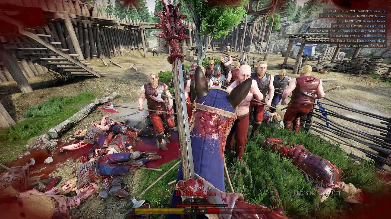 Martialische Massenschlachten in Mordhau - der Steam-Hit im Test