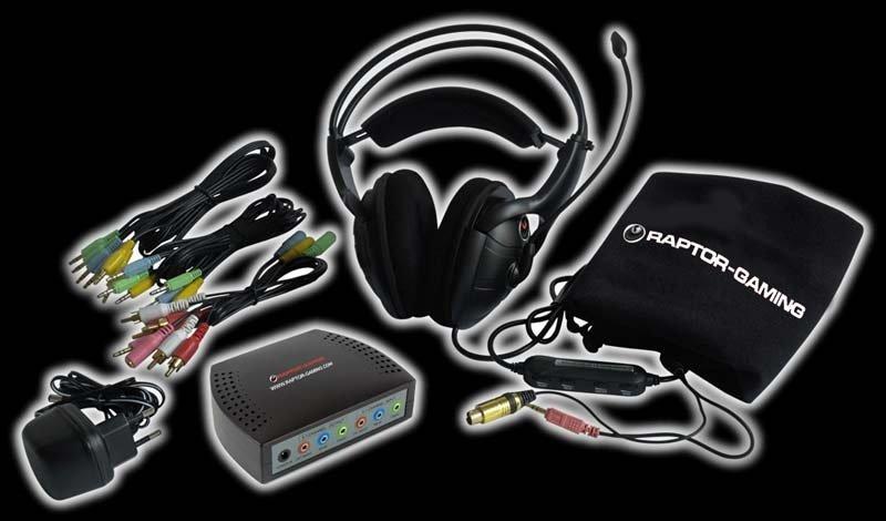 Raptor Gaming H2 - Surround-Headset für 70 Euro - GameStar