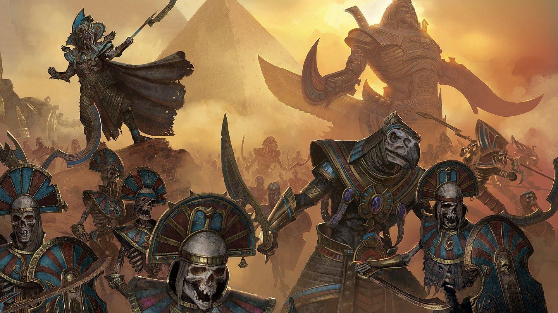 Total War Warhammer 2 Rise Of The Tomb Kings Der Gruftkönig Dlc