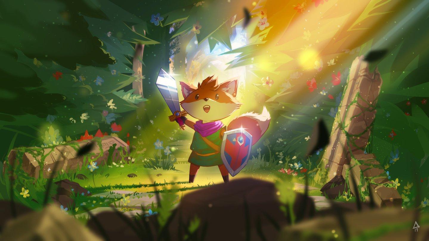 Fuchs-Zelda und Dark-Souls-Action: Microsofts große Indie-Offensive