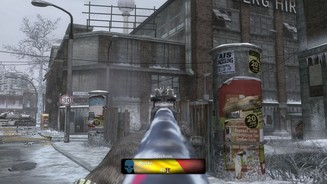Call of Duty: Black OpsBilder von der Karte »Berlin Wall« aus dem Multiplayer-DLC First Strike.