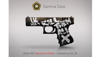 CS:GO - Finishes des Gamma Case