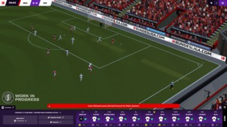 Football Manager 2021 - Match UI During Highlights