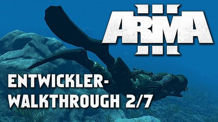 ARMA 3 - Walkthrough-Interview mit Jay Crowe - Teil 2: Tauchen
