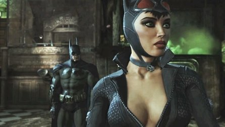 Batman: Arkham City - Gameplay-Demo: 10 Minuten Action mit Batman & Catwoman