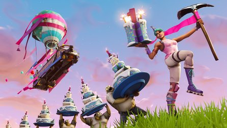 Fortnite Birthday Event - Geburtstags-Challenges & kostenlose Items