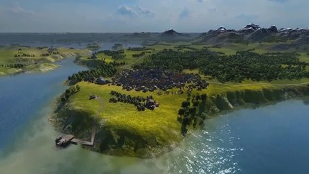 Grand Ages Medieval - Ingame-Trailer zeigt die Spielwelt des Strategietitels