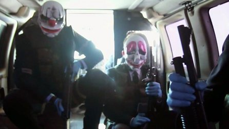 PayDay 2 - Trailer zur Live-Action-Webserie